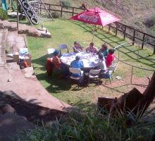 Heritage guide training: introductory session at Hillbillys at 1000 Hills